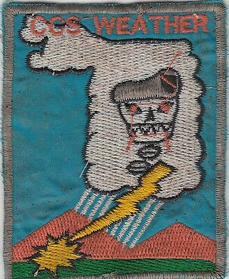 US Army Recon Team Weather Vietnam Patch MACV SOG
