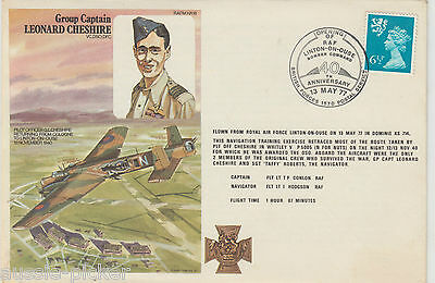 RAF Linton-On-Oues 40th Anniversary Bomber Command 1977 Ist Day Cover