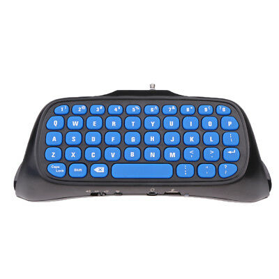 Portable Mini Wireless English Keyboard Gaming for PS4 Slim/Pro Controller
