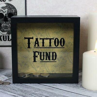 Tattoo Fund Money Box Cabinet Of Curiosities Fund Coin Bank Savings Gift