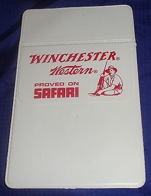 BR1978 WINCHESTER WESTERN NOS Plastic Pocket Protector Proved On Safari NOS