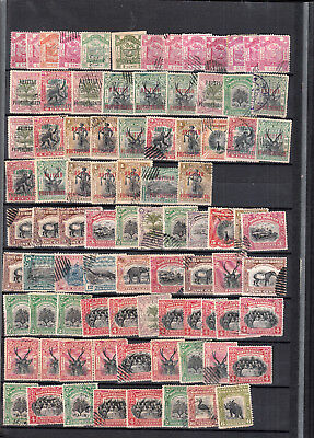 North Borneo 1.5 Stockpages Values/sets Mint/used