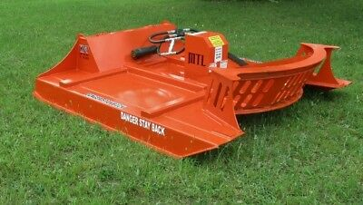 "80"" MTL XC7 Extreme Skid Steer Brush Cutter-3 Blade Double Flywheel -$199 Ship"