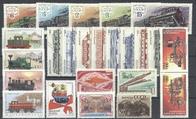 Eisenbahn, Railways - LOT ** MNH