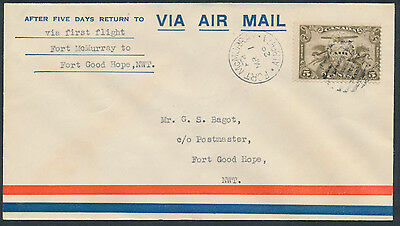 1929 AAMC #2917c Fort McMurray to Fort Good Hope Flight Cover