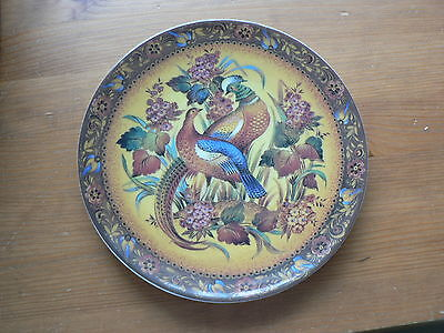 Golden Melody, Russian Plate, Symphony Of Birds & Flowers, Rita Kultyshova