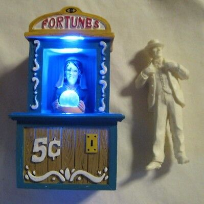 G Scale 1/24 Trains Miniature Resin Fortune Teller Layout Diorama Carnival Fair