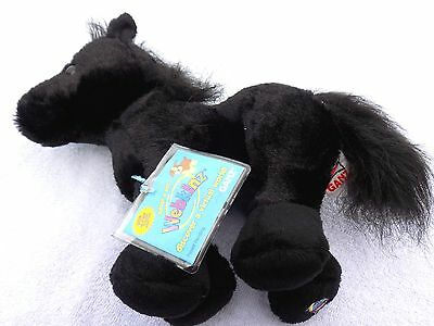 Black Stallion Ganz Plush Toy Stuffed Horse Webkinz Hm145 Tag New Nwt Gift