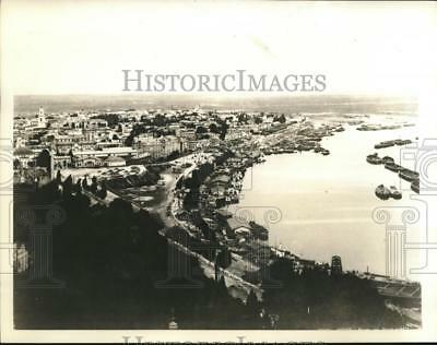 1941 Press Photo Kiev Russia in aerial view reported bombed by Germans