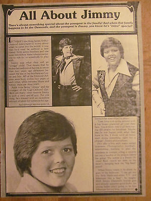 Jimmy Osmond, Osmonds, Brothers, Full Page Vintage Clipping