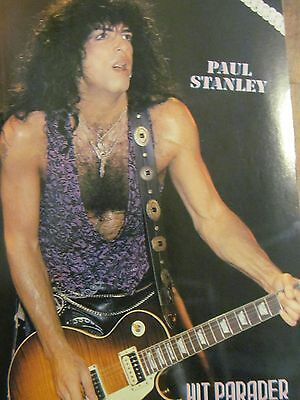 Paul Stanley, Gene Simmons, Kiss, Double Full Page Pinup