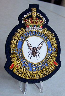 RCAF Royal Canadian Air Force 443 Maritime Helicopter Squadron KC Blazer Badge
