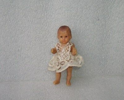 Cute Vintage Antique Small Rubber Doll, Germany Or Europe