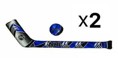 Franklin Sports Soft Sport Mini Hockey Stick Ball Set For Kids Soft (2-Pack)