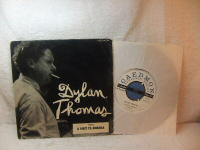 Dylan Thomas – reading A Visit to America 1957 EP Caedmon TCE 110