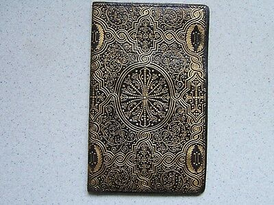 Antique / Vintage Ladies Leather Wallet... Baroque Style..