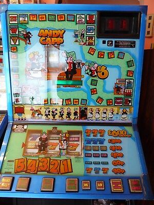 Vintage Barcrest Fruit Machine MPU4 ANDY CAPP Cabinet only Spares 90's