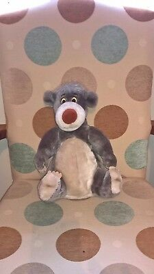 12 inch tall Baloo the Bear of Disney of Jungle Book soft toy