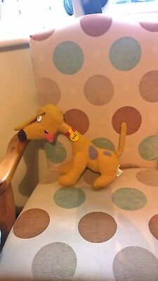 13 inch long Spike the Dog of the Rugrats soft toy