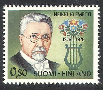 Finland 1976 Klemetti/Composer/Music/People 1v (n39828)