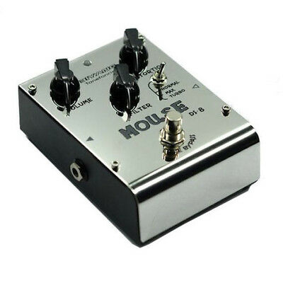 Biyang DS8 Mouse RAT 3 Mode Distortion Overdrive Guitar Effects Pedal