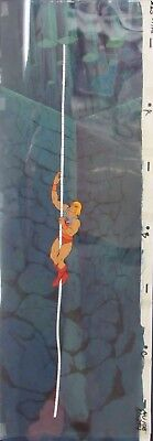 He-Man MOTU Original Production Animation PAN Cel & Painted Background PAN00002