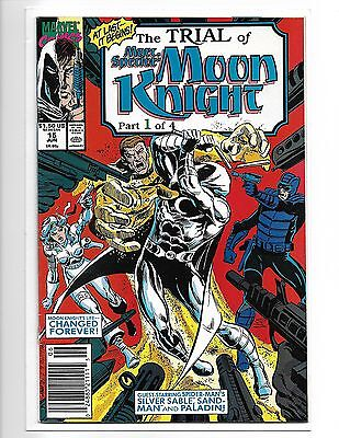 Marc Spector Moon Knight #15 Silver Sable Trial Of Moon Knight