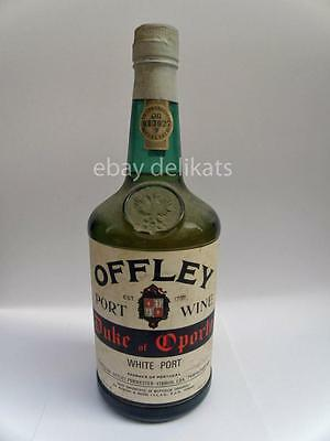 OFFLEY PORT WINE Duke of Oporto vino vintage old Vecchia bottiglia 1950 1960