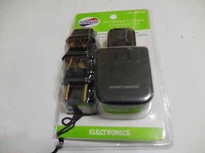 American Tourister International Converter And Plug Set *OPEN PACKAGE*  e2