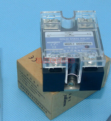 Mager SSR 10A Solid State Relay 3-32VDC Switch 5-220VDC Load x25pcs