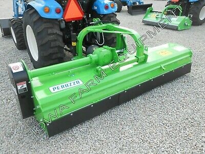 "Flail Mower, Mulcher: Peruzzo Bull 1800 72"" Cut with 16"" Manual Right Offset"