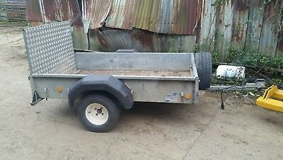 IFOR WILLIAMS trailer p6 car trailer