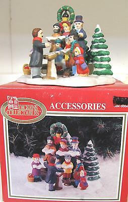 Dickens Collectables Hand Painted Porcelain Carolers NIB