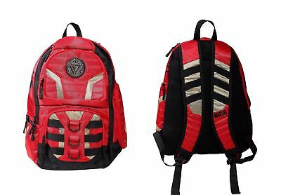 Marvel Comics Iron Man Official Built Up Premium Padded Backpack School Book Bag