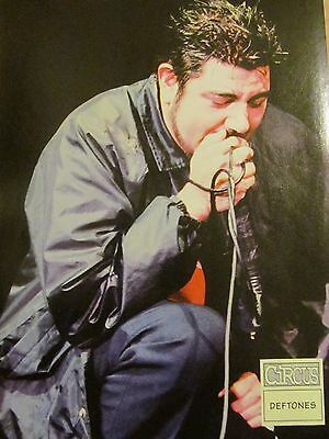 The Deftones, Full Page Pinup