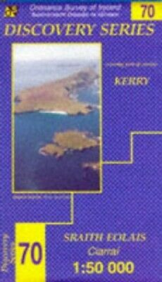 Kerry (Irish Discovery Series) by Ordnance Survey Ireland Sheet map, folded The