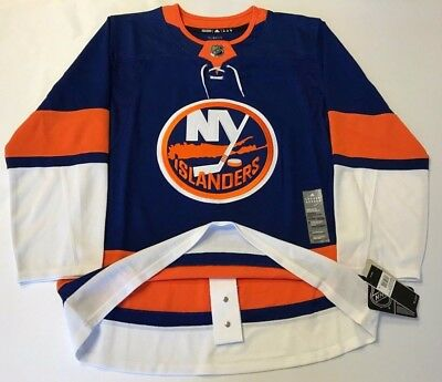 NEW YORK ISLANDERS size 46   sz Small ADIDAS HOCKEY JERSEY Climalite  Authentic 67be9e170