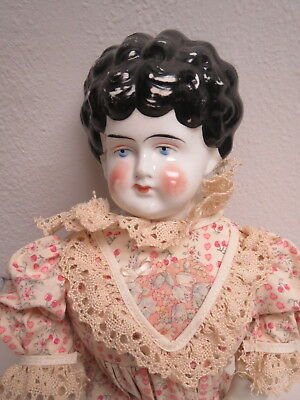 """Antique China Head Doll Large 23"""" Tall 'PAULINE"""" Made in Germany Ca 1880 Ex/Con"""