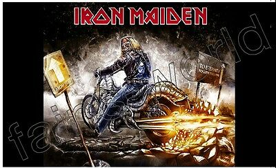 IRON MAIDEN FLAG BANNER POSTER - 3 ft X 5 ft