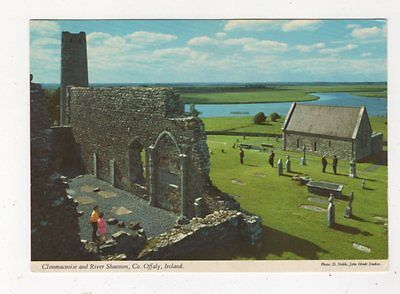 Clonmacnoise & River Shannon Co Offaly Ireland Postcard 983a