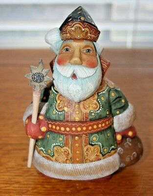 NOS 2001 G.DeBrekht The DerEvo Collection MAGIC RED-JOVIAL SANTA #51785-2
