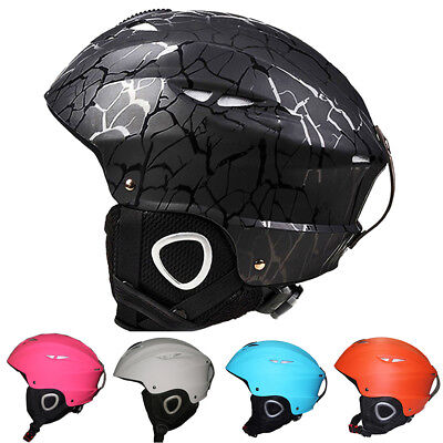 Skiing Helmet Adjustable Buckle Windproof Cushion Layer Outdoor Sports Exotic