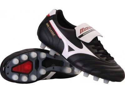 Mizuno MRL Classic MD Men's Football Boots Moulded Studs Leather Firm Ground FG