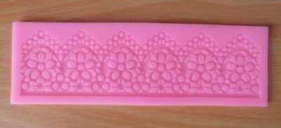 Flower Chain Silicone Lace Pad Decoration Mat Cake Mold