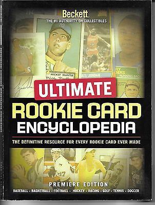 BECKETT Ultimate Rookie Card Encyclopedia  Premiere Edition