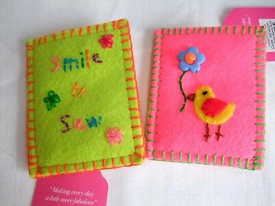 Bombay Duck Felt Needle Book Case with Needles, Pins and Threader Usually £8.95