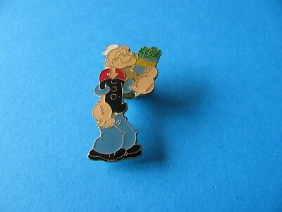 Popeye Character With Spinach pin badge. VGC.