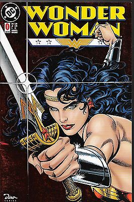 Wonder Woman Nr.0 / 1998 Mike Deodato Jr. / Red Foil Chrom - Metallic Cover