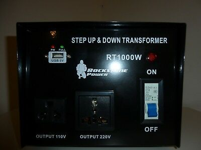 Voltage Transformer Converter 1000 W Step Up Down Regulator 110 To 220V