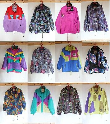 Wholesale Joblot 10 Vintage Neon Crazy SKI Snowboard Jackets PHOTOS SHOWN